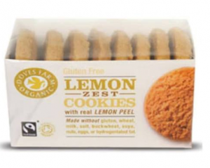 lemon zest cookies