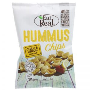 Eat Real Humus Chilli & Lemon Chips