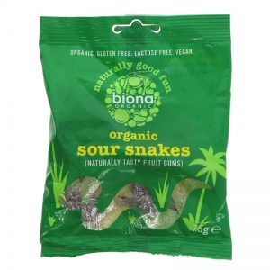 Biona Sour Snake Sweets