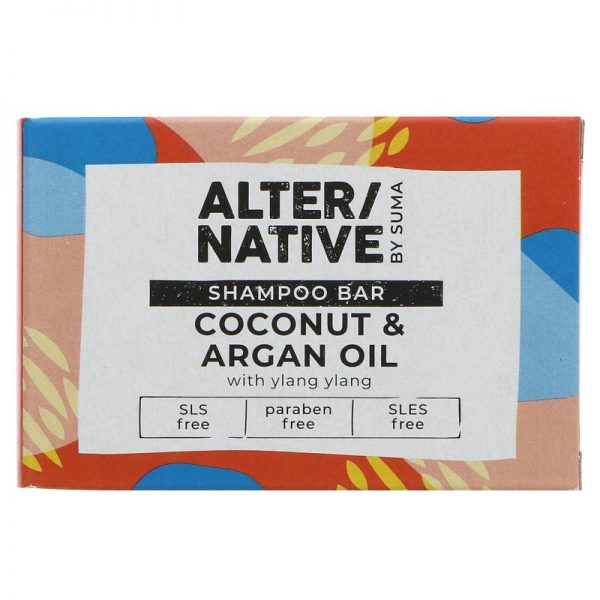 Alter/native By Suma Glycerine Shampoo Bar- Coconut