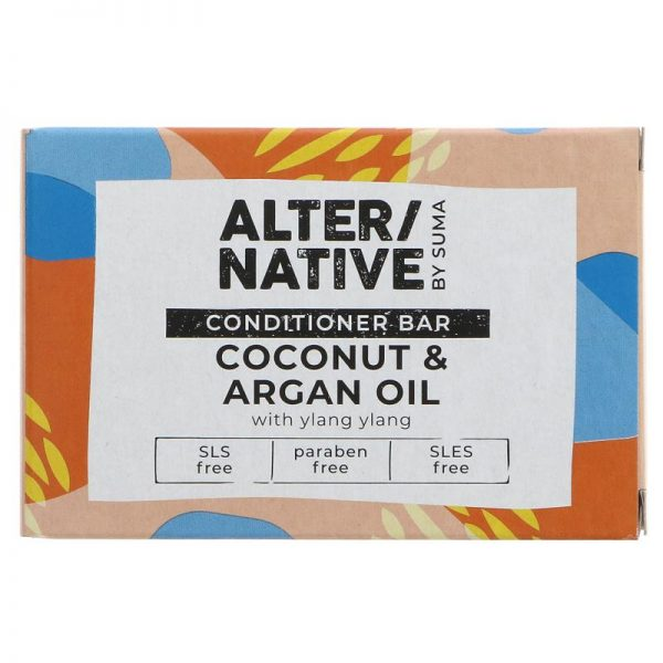 Alter/native By Suma Hair Conditioner Bar - Coconut