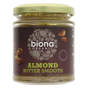 Biona Almond Butter Smooth Organic