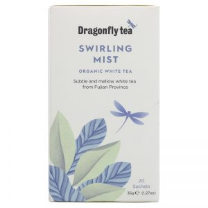Dragonfly Teas Swirling Mist White Tea - 4 x 20 bags