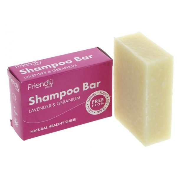Friendly Soap Shampoo Bar-Lavender &Geranium