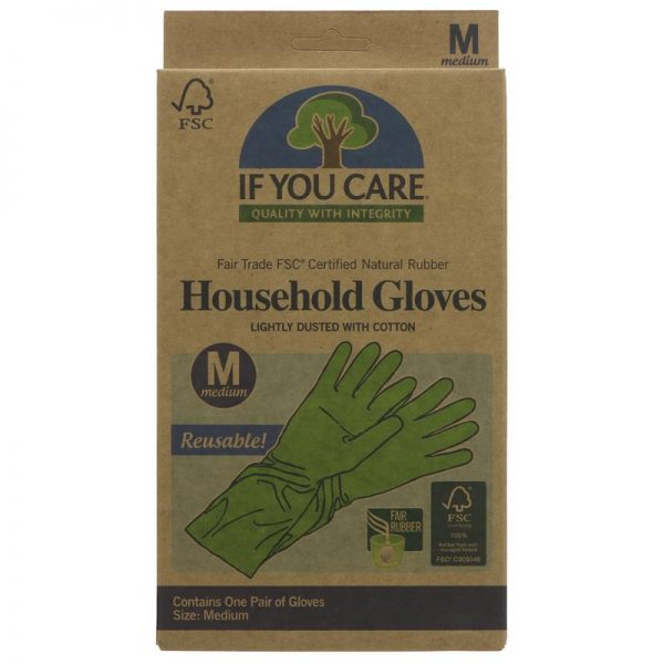 If You Care Latex House Gloves - Medium