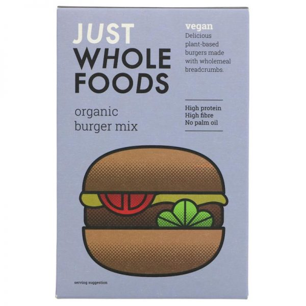 Just Wholefoods Vegetarian Burger Mix