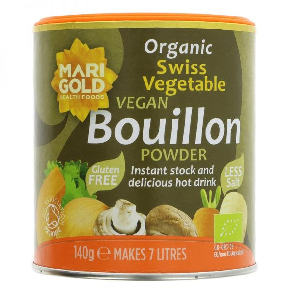 Marigold Organic Bouillon Reduced Salt