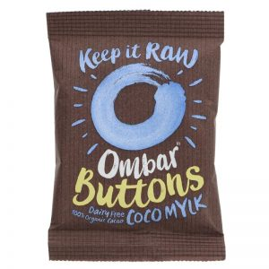 Ombar Raw Chocolate Coco Mylk Chocolate Buttons