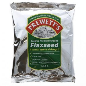 Prewetts Organic Ground Flaxseed