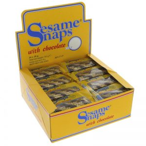 Sesame Snaps Sesame Snaps Chocolate Coated