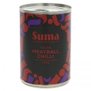 Suma Vegan Meatball Chilli