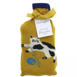 Thought Bamboo Socks Kitty Socks in Bag - 4-7