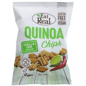 Eat Real Quinoa Chilli & Lime Chips
