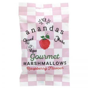 Ananda Foods Raspberry Marshmallow Bag