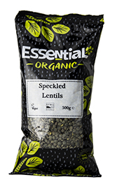 Dark Speckled Lentils