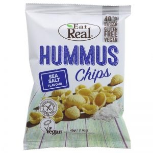 Eat Real Humus Sea Salted Chips