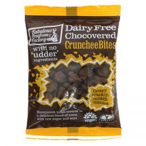 Fabulous Free From Factory Chocovered Crunchee Bites