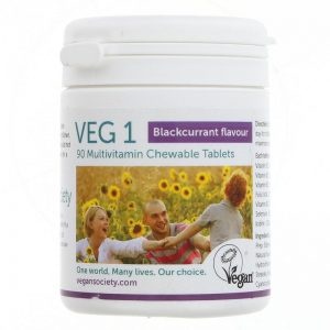 Vegan Society VEG 1 - Blackcurrant Flavour